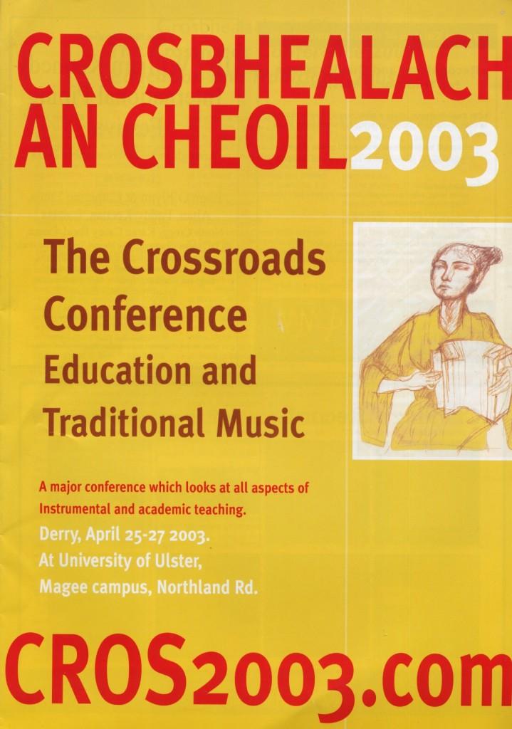 Crosbhealach2003-programme